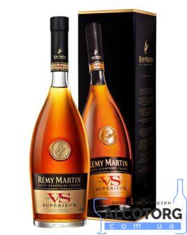 Коньяк Ремі Мартін ВС Суперіор коробка, Remy Martin Superior VS 1 л.