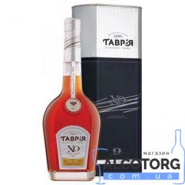 Коньяк Таврія ХО в коробці, Tavria XO 0,5 л.