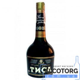 Коньяк Тиса 6 років Ужгород, Uzhhorod 6 years old 0,5 л.