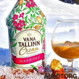 Крем Лікер Старий Таллінн Марципан, Vana Tallinn Marzipan 0,5 л.