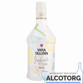 Лікер Старий Таллінн Йогурт, Vana Tallinn Yoghurt Cream 0,5 л.
