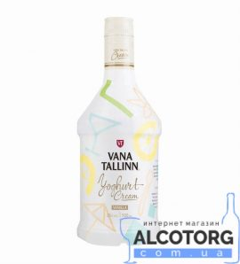 Крем Лікер Старий Таллінн Йогурт, Vana Tallinn Yoghurt Cream 0,5 л.