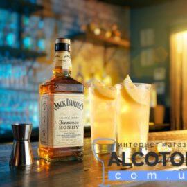 Віскі-Лікер Джек Деніелс Теннессі Хані, Jack Daniel's Tennessee Honey 0,7 л.