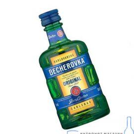Настоянка Бехеровка, Becherovka 0,05 л.
