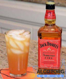 Віскі-Лікер Джек Деніелс Теннессі Фаєр, Jack Daniel's Tennessee Fire 0,7 л.