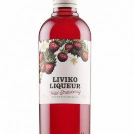 Лікер Лівіко Суниця, Liviko Wild Strawberry 0,5 л.
