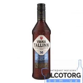 Лікер Старий Таллінн 50%, Vana Tallinn 50% 0,5 л.