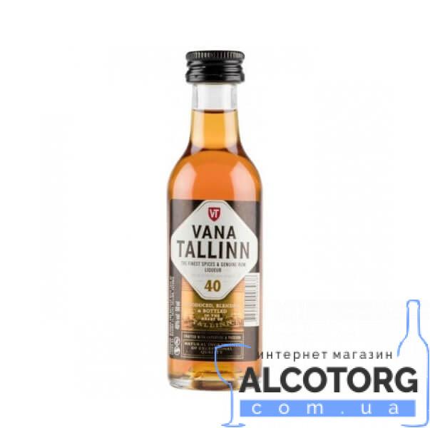Лікер Старий Таллінн Оріджинал, Vana Tallinn Original 0,05 л.