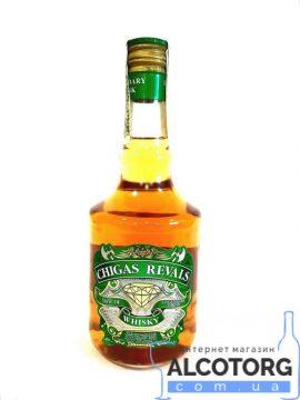 Міцний алкогольний напій смак Віскі Карамельний, Chigas Revals 0,5 л.