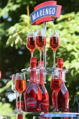 75 л. Напиток винный игристый Маренго Аперитиво сладкое розовое