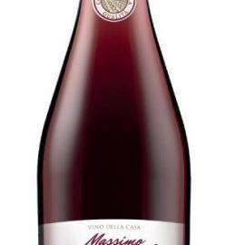 Вино Массімо Верді Россо червоне напівсолодке, Massimo Verdi Rosso 1 л.