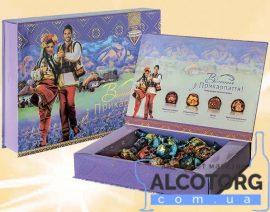 Коробка цукерок Вітання з Карпат 0