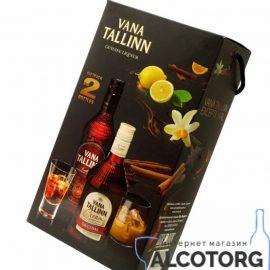 Ликер Старый Таллинн + Крем Ликер, Vana Tallinn + Vana Cream Original 0,5 л.