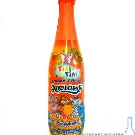 Напій Апельсинія безалкогольний соковмісний сильногазований Тілі-тілі 0