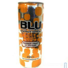 Напиток энергетический BLU ENERGY DRINK-PASSIONFRUIT 0,25 л.