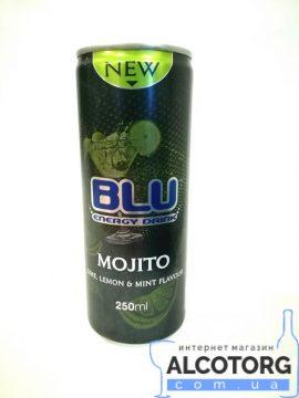 Напій енергетичний BLU MOJITO ENERGY DRINK 0,25 л.
