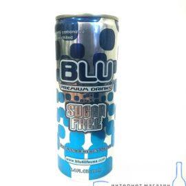 Напиток энергетический BLU SUGAR FREE 0,25 л.
