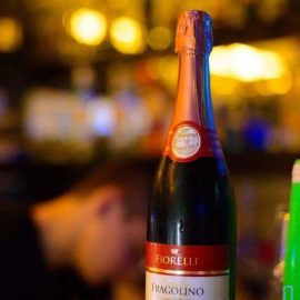Напій на основі вина Фіореллі Фраголіно Россо солодке червоне, Fragolino Rosso Fiorelli 0,75 л.