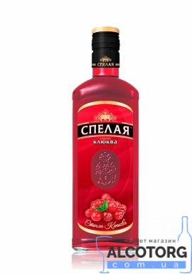 Напій плодово ягідний Спелая Журавлина Елітна 0,5 л.