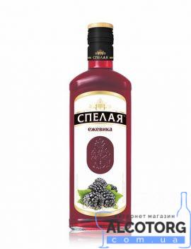 Напій плодово ягідний Спелая Ожина Елітна 0,5 л.