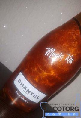 Напій Винний Слабоалкогольний Шантель Чарівний Поцілунок напівсолодкий, Chantel Magic Kiss 0,75 л.