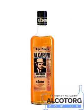 Напій алкогольний Витриманий Аль Капоне, Al Capone 0,5 л.