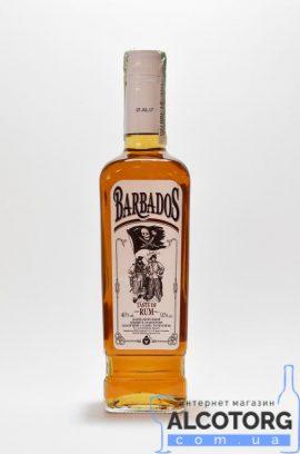 Напій алкогольний зі смаком рому класичний Barbados   Напиток алкогольный со смаком рому классический Barbados