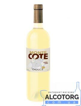 Напій на основі вина Монте Коте Дольче біле солодке, Monte Cote Dolce Cotnar 0,75 л.