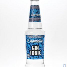 """Напій слабоалкогольний Gin tonic mdn V_Kontakte 0,33 л.  ТМ """"ТЕКІТА"""""""
