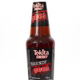 """Напій слабоалкогольний Tekita Energy Brandy Coca 0,33 л.  ТМ """"ТЕКІТА"""""""