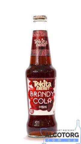 Напій слабоалкогольний Tekita Energy Brandy Cola