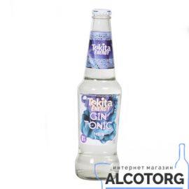 """Напій слабоалкогольний Tekita Energy Gin Tonic mdn 0,33 л.  ТМ """"ТЕКІТА"""""""