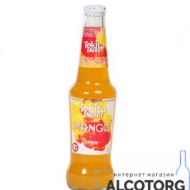 """Напій слабоалкогольний Tekita Energy Mango mdn 0,33 л.  ТМ """"ТЕКІТА"""""""