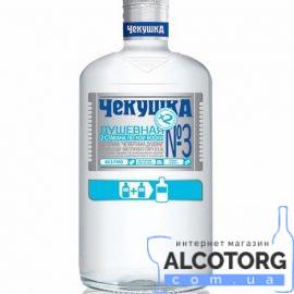 Настойка Чекушка Душевная фляга 0,25 л.