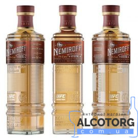 Настоянка Медова з перцем Де Люкс Немірофф, Honey Pepper De Luxe Nemiroff 0,5 л.