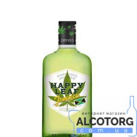 Настоянка Конопляна Ямайка Хеппі Ліф, Happy Leaf 0,25 Л.