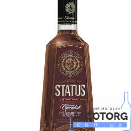 Настоянка Статус зі смаком Шоколаду, STATUS Chocolate 0,5 л.
