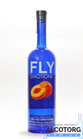 Горілка Флай Персик, Fly Emotion 1 л.