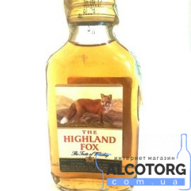 Настоянка Хайленд Фокс, The Highland Fox 0,1 Л.