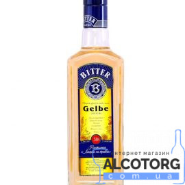 Настоянка Біттер Лікерна на травах, Gelbe Bitter 0,5 л.