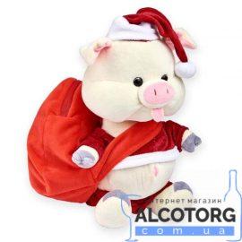 Новорічний подарунок Свинка Санта 500 г.