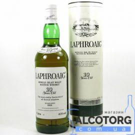 Віскі Лафройг 10 років, Laphroaig 10 years 0,7 л.