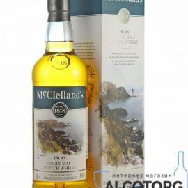 Віскі Макклелландс Айла Сінгл Молт, McClelland's Islay Single Malt 0,7 л.