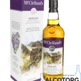 Віскі Макклелландс Хайленд Сінгл Молт, McClelland's Highland Single Malt 0,7 л.