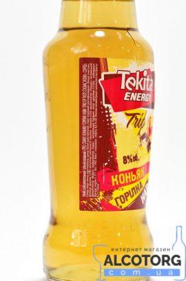 Напій слабоалкогольний Tekita energy trio зі смаком коньяку горілки кави   Напиток слабоалкогольный Tekita energy trio со вкусом коньяка водки кофе