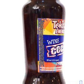 Напій слабоалкогольний Tekita Energy Wine Coca | Напиток слабоалкогольный Tekita Energy Wine Coca