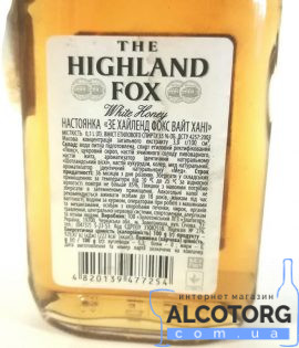 The Highland Fox White Honey 0