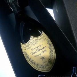 Шампанське Дом Періньон 2006 в коробці біле сухе, Dom Perignon 2006 gift box 0,75 л.