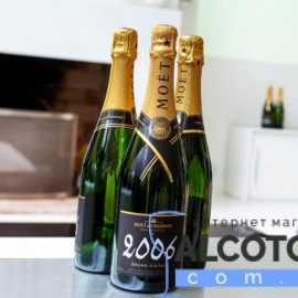 Moet & Chandon Brut Vintage 2006 gift box 0