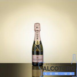 Шампанське Моєт Шандон Розе Імперіал рожеве сухе, Moet + Chandon Rose Imperial 0,2 л.